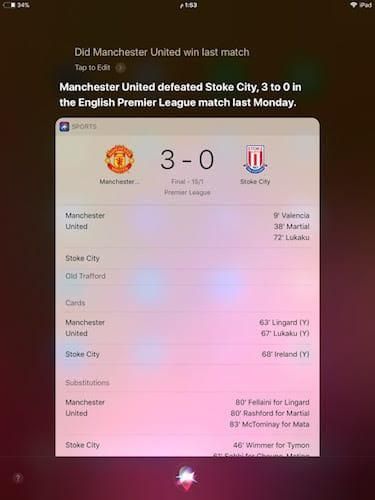 نتائج مباراة مانشستر يونايتد