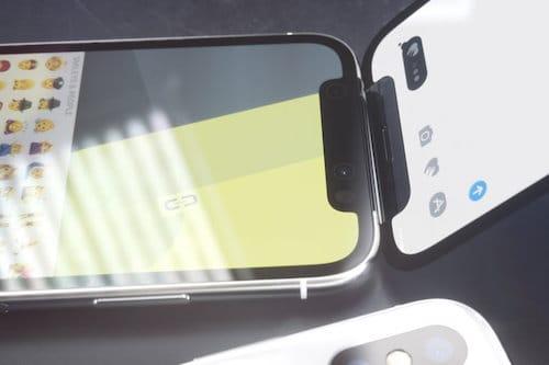 كاميرا التعرف على العمق على الايفون X القابل للطي