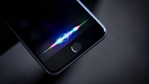 شعار المساعد الشخصي Siri على الايفون