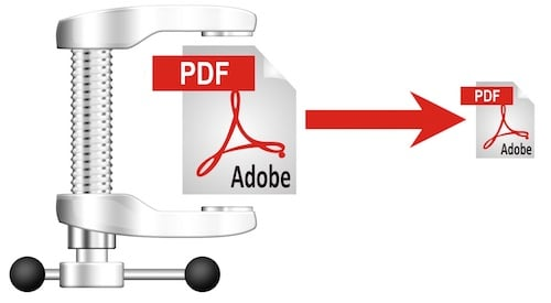 ضغط ملف PDF وتقليص حجمه