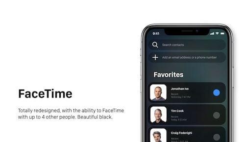 ميزة FaceTime