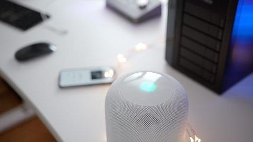 سماعات HomePod اللاسلكية