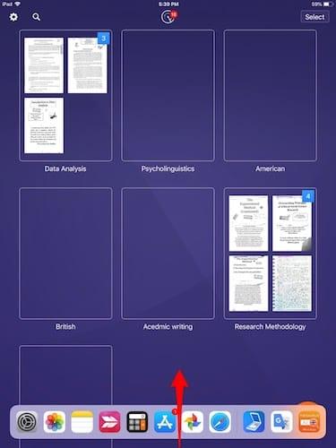 واجهة تطبيق Scanpro
