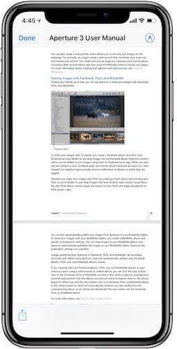 فتح مستند PDF