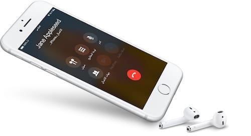 إجراء مكالمة على الايفون