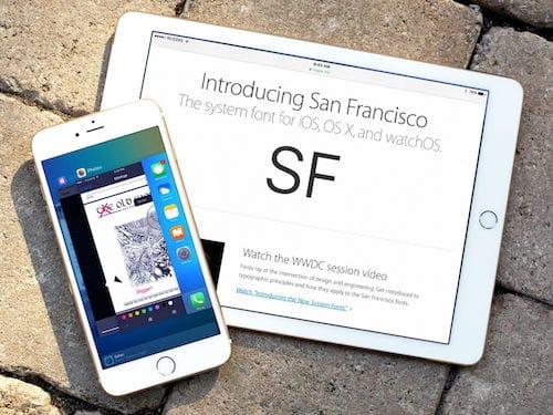خط سان فرانسيسكو على الايفون و الايباد