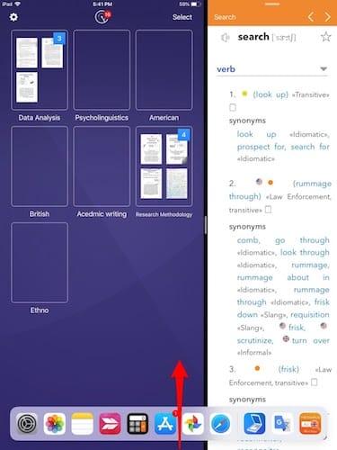 تقسيم الشاشة و فتح تطبيقان معاً