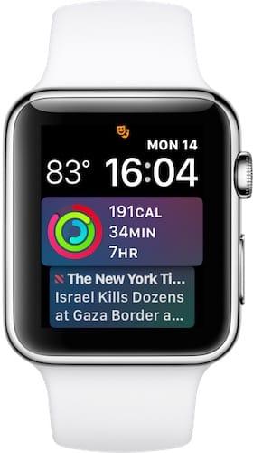 إشعارات إنجازات اللياقة على ساعة ابل واتش