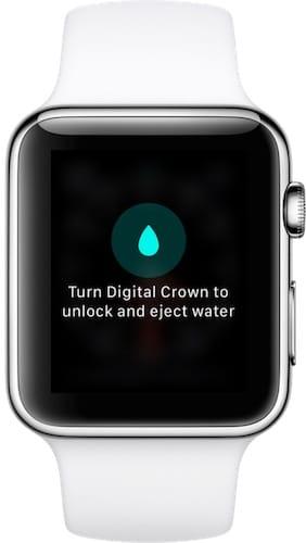 إيقاف ميزة قفل الماء على ابل واتش