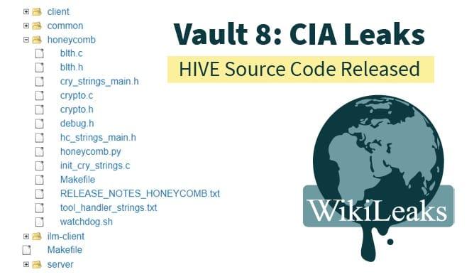 سورس كود نظام عمل برنامج التجسس الخاص بالاستخبارات الامريكية CIA