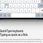 شرح ميزة الضغطات على المفاتيح للكتابة السريعة على الايباد