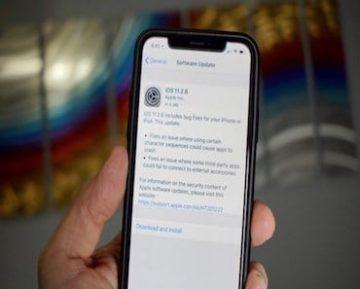ابل تطلق تحديث iOS 11.2.6 ليحل مشكلة الرمز الشبح