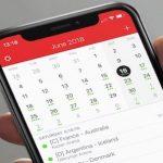 كيفية إضافة جدولة مباريات كأس العالم لتقويم الايفون