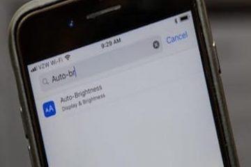 كيفية الوصول إلى ميزة إضاءة تلقائية في نظام iOS 11