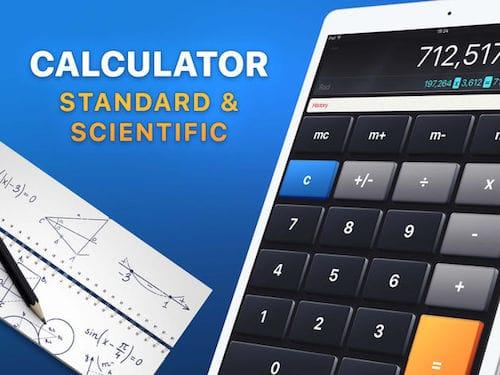 واجهة تطبيق Calculator'
