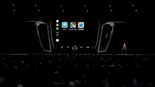دعم تطبيقات الطرف الثالث على CarPlay