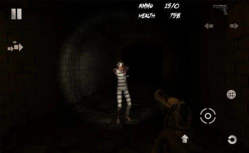واجهة لعبة Dead Bunker II