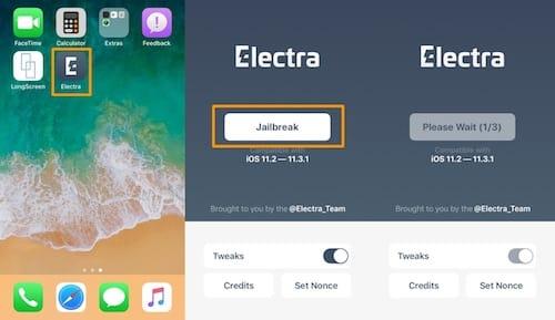 خطوات جيلبريك iOS 11.2-11.3.1