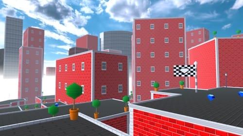 واجهة لعبة RUN VR