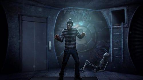 واجهة لعبة Space escape PRO
