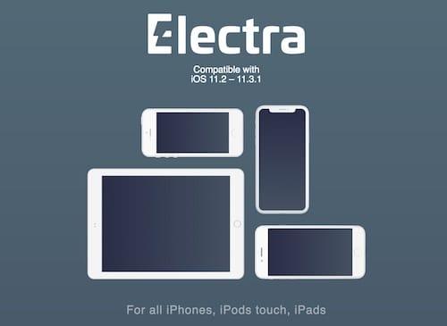 شعار أداة الجيلبريك Electra