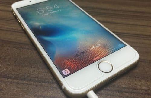 واجهة هاتف الايفون 6