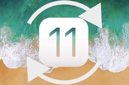 شعار iOS 11