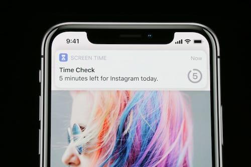 ميزة وقت الشاشة على الايفون