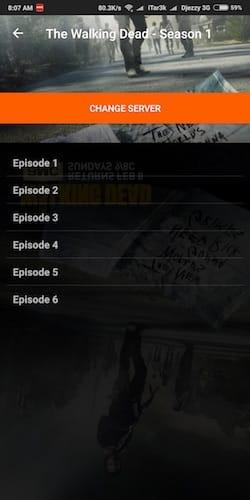 قائمة حلقات المسلسل