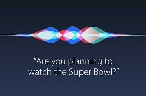 واجهة المساعد الشخصي Siri