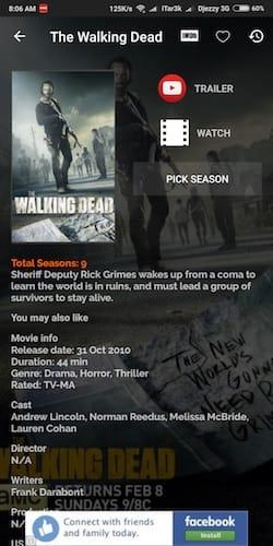 معلومات مسلسل The Walking Dead