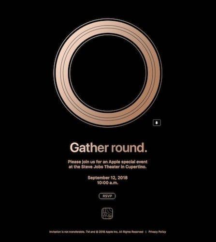 شعار مؤتمر الكشف عن الايفون