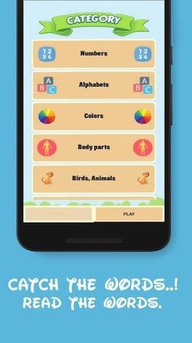 واجهة تطبيق Game School