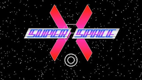 واجهة لعبة Super Space X