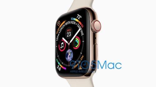 صورة تسريبية ل Apple Watch Series 4