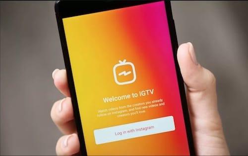 واجهة تطبيق IGTV