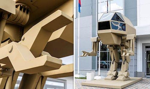 روبوت شركة كلاشينكوف
