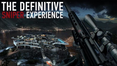 واجهة لعبة Hitman Sniper
