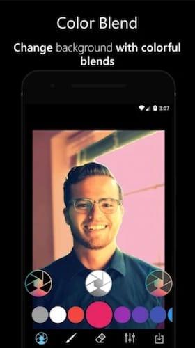 واجهة تطبيق Phocus : Portrait Mode & Portrait Lighting Editor