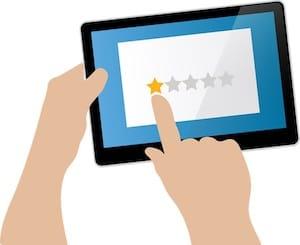 التقييمات السيئة تعني أن الموقع غير جدير بالثقة وقد لا يوفر حماية البطاقة المصرفية بشكل كاف