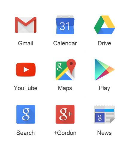 تطبيقات وخدمات جوجل