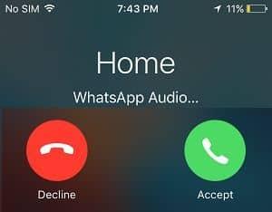 مجرد مكالمة واتساب تؤدي للإختراق